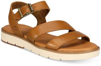 Timberland Women's Bailey Park Flat Sandals Women's Shoes