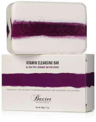 Baxter of California Vitamin Cleansing Bar, Bergamot & Pear