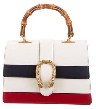 Gucci Small Dionysus Leather Top Handle Bag