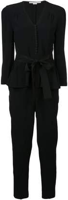 Stella McCartney peplum V-neck jumpsuit