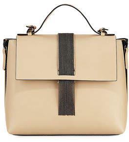 Brunello Cucinelli Medium Smooth Leather Monili Top Handle Bag