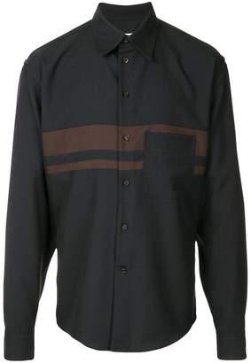 Marni double striped shirt