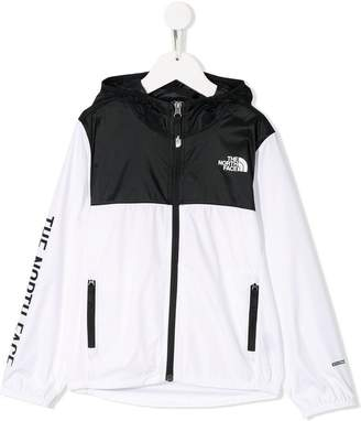 The North Face Kids contrast logo jacket