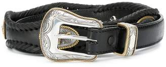Jessie Western embossed buckle belt