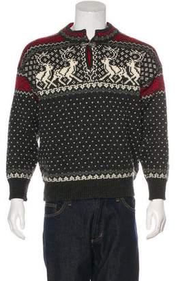Dale of Norway Wool Intarsia Sweater