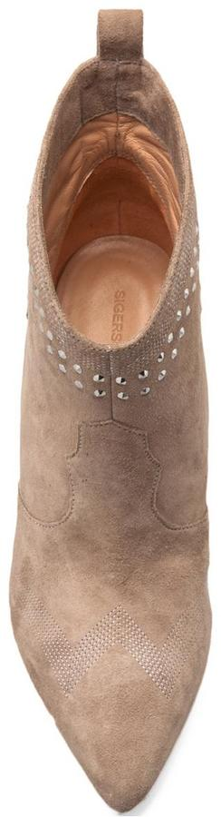 Sigerson Morrison Accent Hidden Wedge Bootie