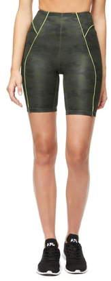 Good American Piped Bike Shorts