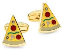 Paul Smith Pizza Goldtone Cufflinks