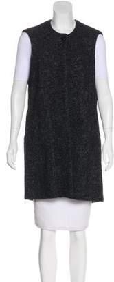 Isabel Marant Textured Longline Vest