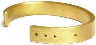 Thin Solid Brass or Bronze Cuff