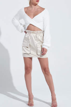 Timeless Cargo Skirt