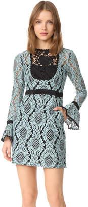 Nanette Lepore Soho Shift Dress $458 thestylecure.com