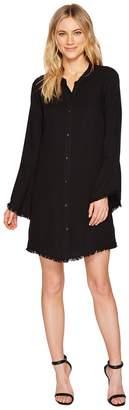 Splendid Crosshatch Knot Back Dress Women's Dress