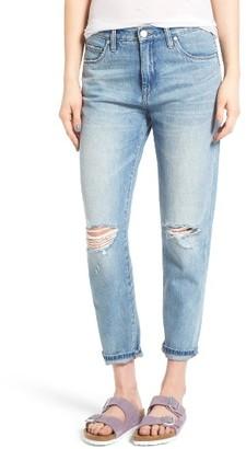 Women's Blanknyc Ripped Boyfriend Jeans $98 thestylecure.com