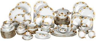 One Kings Lane Vintage Antique Dinnerware - Set of 10