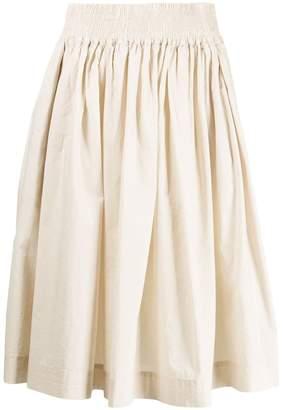 Woolrich elasticated waist skirt
