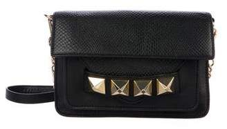 Linea Pelle Layla Studded Double Flap Crossbody Bag