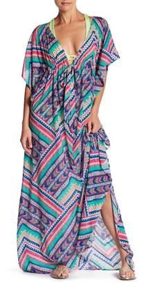 Saha Swimwear Printed Long Dress
