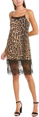 Twin-Set Twin Set Twinset Lace-Trim Slip Dress
