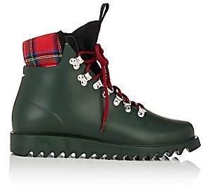 Barneys New York Women's Neoprene-Insert Rain Boots-Dk. Green