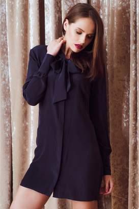 596f58bdff6edb Sophie Cameron Davies Silk Mini Dress