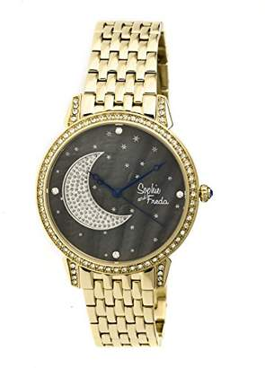 Freda Sophie and Women's 'Moon and Stars' Quartz Stainless Steel Watch