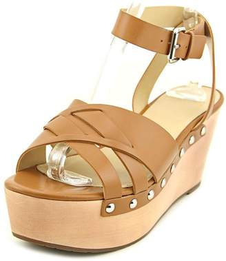 Marc Fisher Marcfisher Camilla Women US 6 Tan Wedge Heel