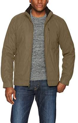 London Fog London by Men's Bonded Microfiber Hipster Jacket