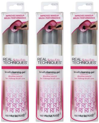 Real Techniques Brush Cleansing Gel, Set of 3