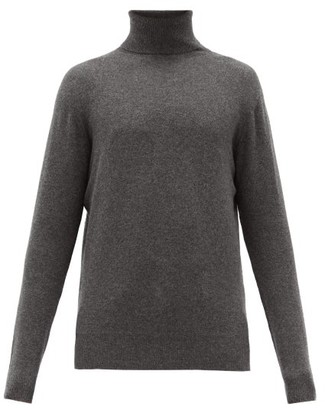 Raey Roll Neck Cashmere Sweater - Mens - Grey