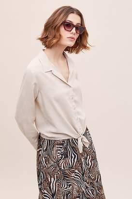 Cloth & Stone Tie-Waist Shirt