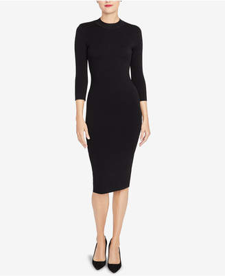 Rachel Roy Back-Cutout Sweater Dress