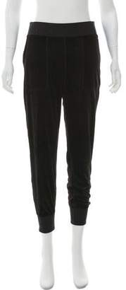 Rag & Bone Velvet High-Rise Joggers