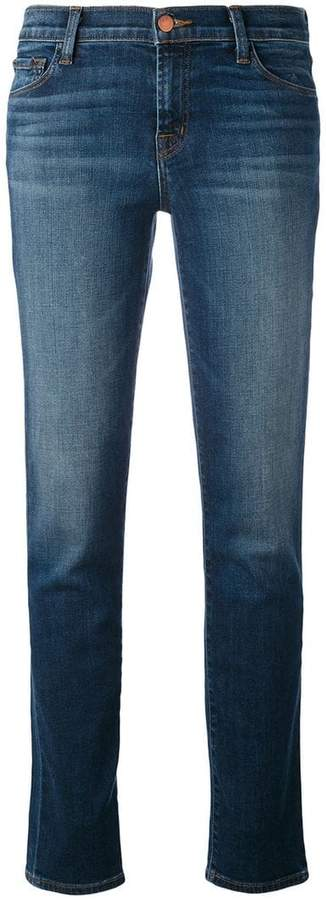 J Brand faded straight jeans