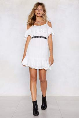 Nasty Gal Let's Call the Hole Thing Off Crochet Dress