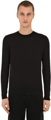 Basic Crewneck Virgin Wool Sweater