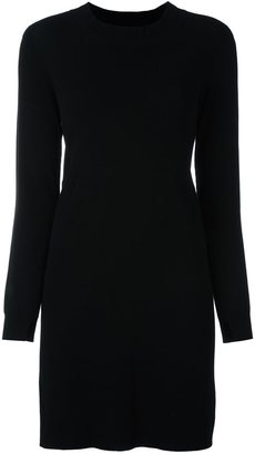 Twin-Set long-sleeve jumper dress $166.87 thestylecure.com