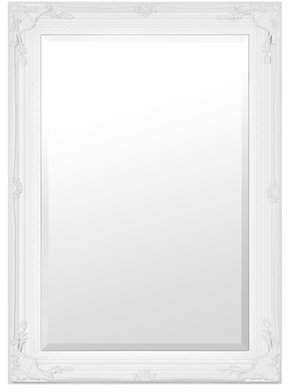 Co Darby Home Cherina Stone White French Traditional Wall Mirror