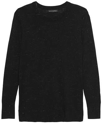 Banana Republic Petite Metallic Wool-Modal Sweater