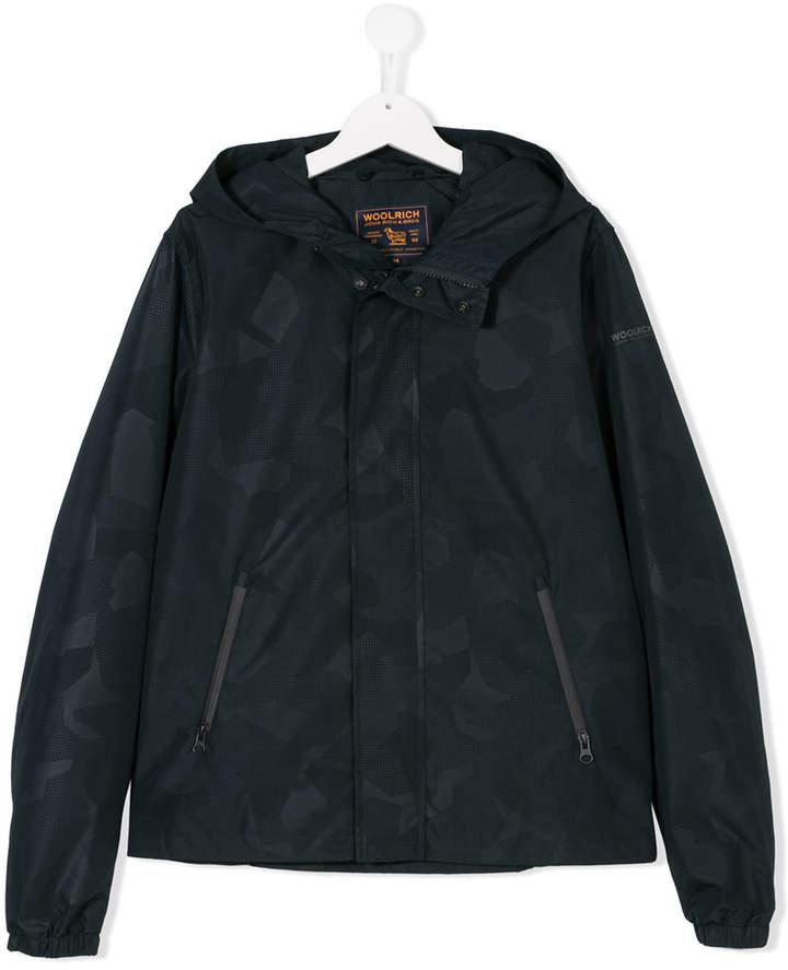 Woolrich Kids TEEN printed jacket