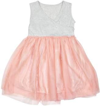 Funkyberry Surplice Cotton Dress