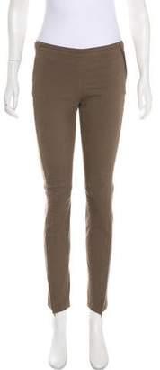Hache Mid-Rise Skinny Pants