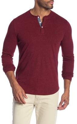 Original Penguin Nep Henley Long Sleeve Shirt