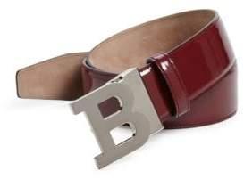 Bally B Buckle Leather Belt