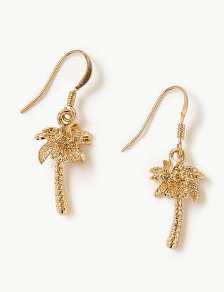 Marks and Spencer Palm Tree Drop Earrings