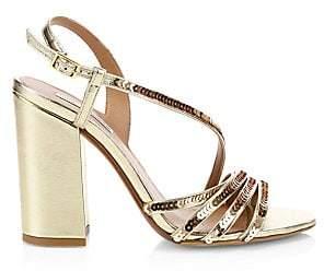 d23078dadcb Women's Viola Metallic Block Heel Sandals