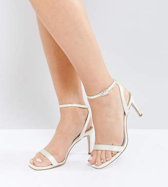 Asos Hideaway Wide Fit Heeled Sandals