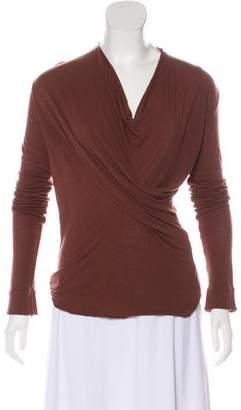 Rick Owens Asymmetrical Knit Top