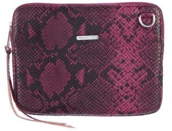 Rebecca Minkoff Rebecca Minkoff Embossed Leather iPad Crossbody