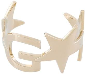 Givenchy logo and star cuff